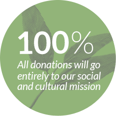 100% of donations go to priority projects